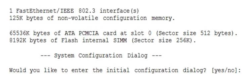 Refer to the exhibit. What can be determined about the router from the console output? 2