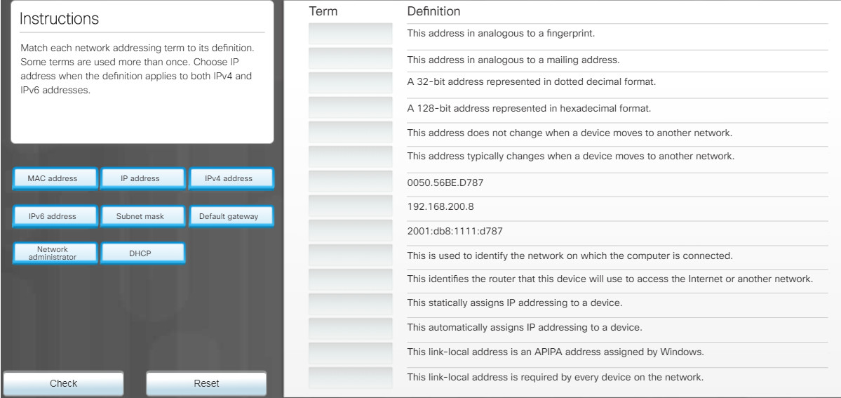 Essentials v7.0: Chapter 6 - Applied Networking 104