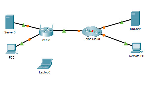 13.4.1.10 Packet Tracer - Configure Wireless Security