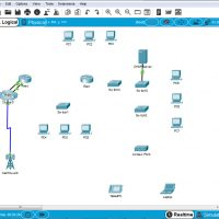 4.7.1 Packet Tracer - Connect the Physical Layer - Instructions Answer 1