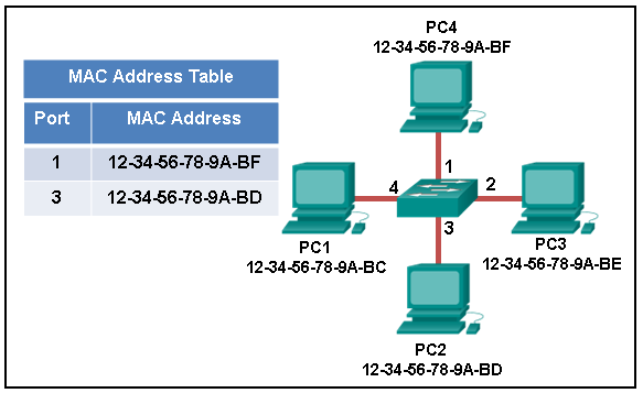 CCNA 1 v7 Modules 8 - 10: Communicating Between Networks Exam Answers 3