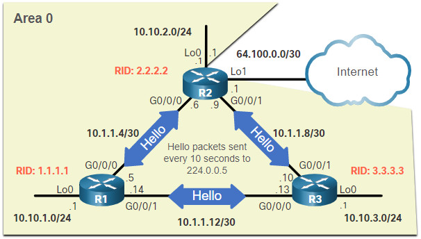 CCNA 3 v7.0 Curriculum: Module 2 - Single-Area OSPFv2 Configuration 41