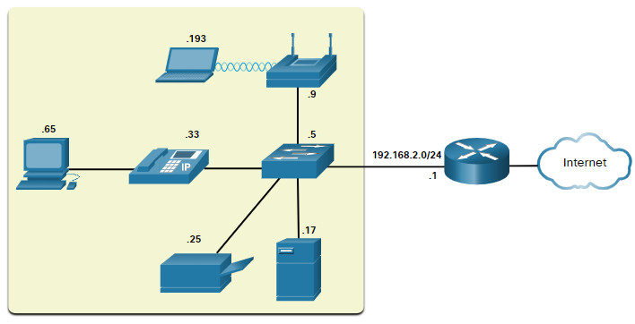 CCNA 1 v7.0 Curriculum: Module 17 - Build a Small Network 27