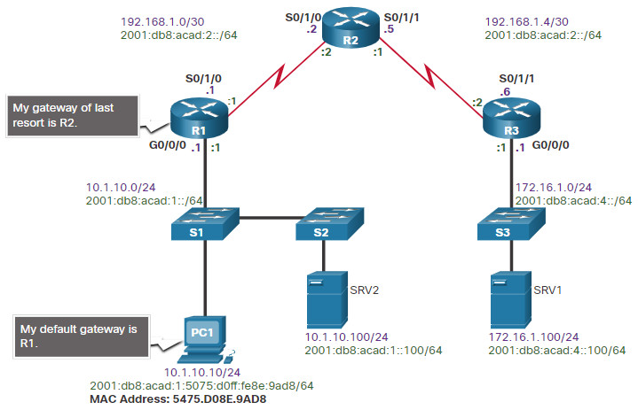CCNA 3 v7.0 Curriculum: Module 12 - Network Troubleshooting 67