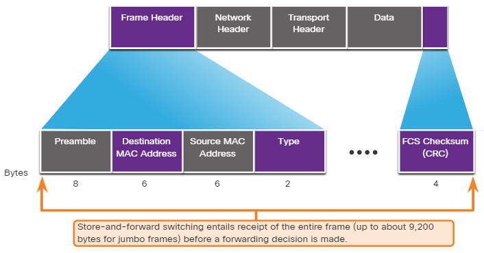 CCNA 2 v7.0 Curriculum: Module 2 - Switching Concepts 7