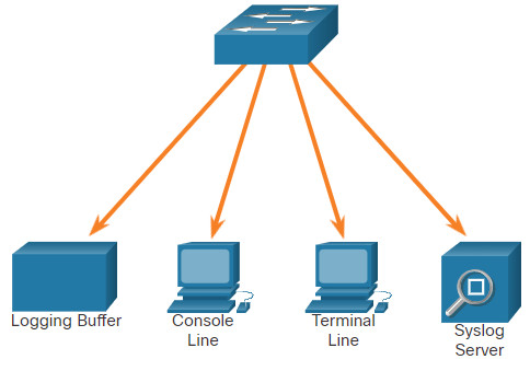 CCNA 3 v7.0 Curriculum: Module 10 - Network Management 46