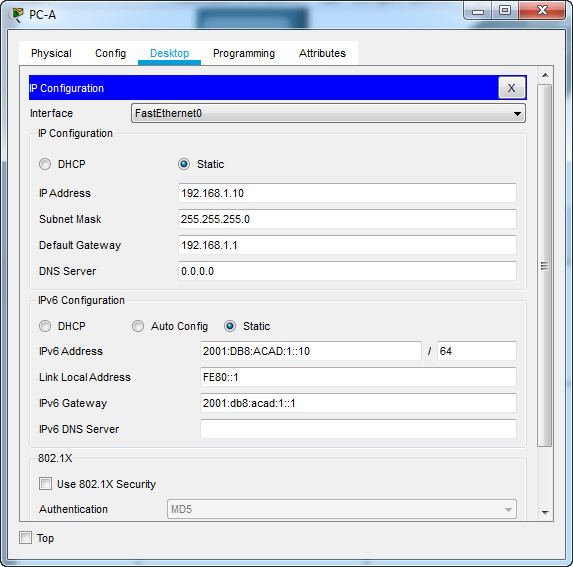 1.6.2 Lab - Configure Basic Router Settings (Answers) 9