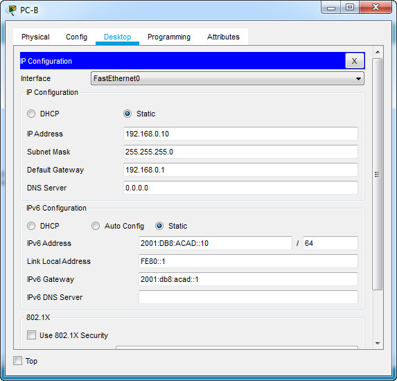 1.6.2 Lab - Configure Basic Router Settings (Answers) 10