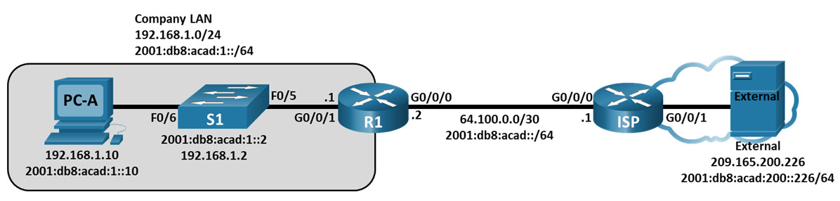 13.3.2 Lab - Use Ping and Traceroute to Test Network Connectivity (Answers) 3