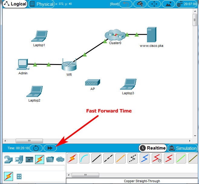 13.1.10 Packet Tracer – Configure a Wireless Network – Instructions Answer 5