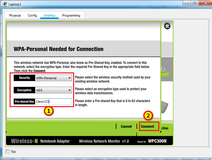13.4.5 Packet Tracer – Troubleshoot WLAN Issues (Instructions Answer) 19