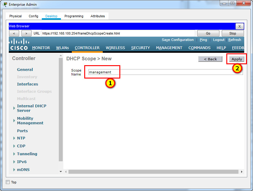 13.5.1 Packet Tracer – WLAN Configuration – Instructions Answer 21