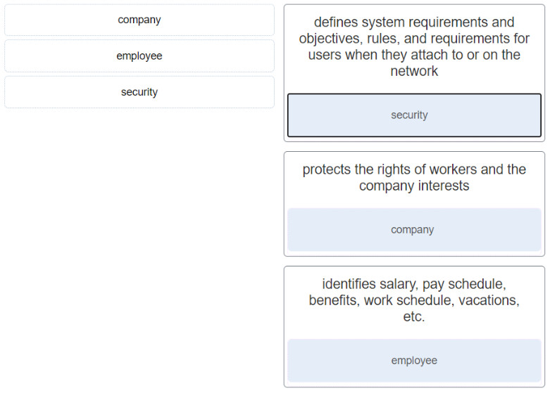 Modules 18 - 20: Network Defense Group Exam (Answers) 1