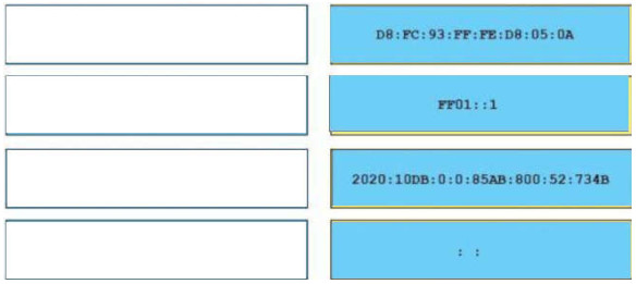 CCNA 200-125 Drag and Drop Questions Full 10