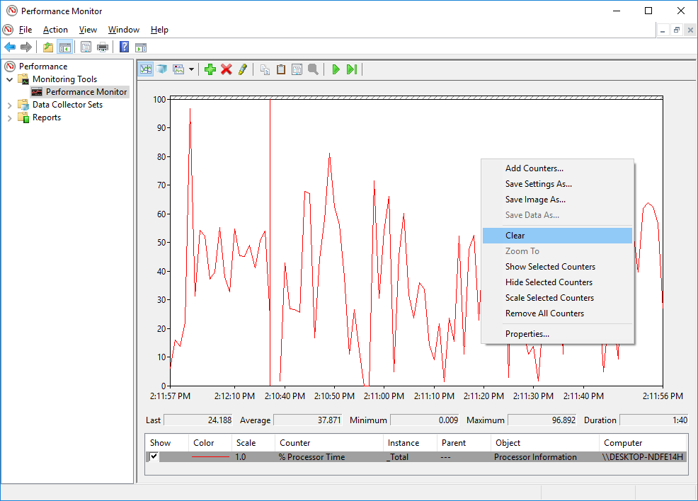 3.3.13 Lab - Monitor and Manage System Resources in Windows (Answers) 23
