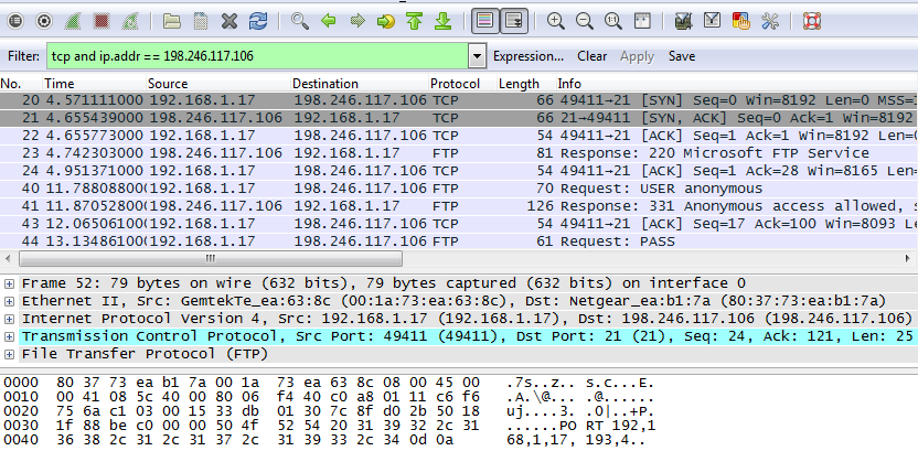 10.4.3 Lab - Using Wireshark to Examine TCP and UDP Captures (Answers) 19