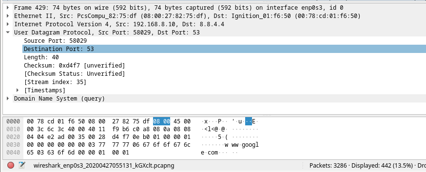10.2.7 Lab - Using Wireshark to Examine a UDP DNS Capture (Answers) 15