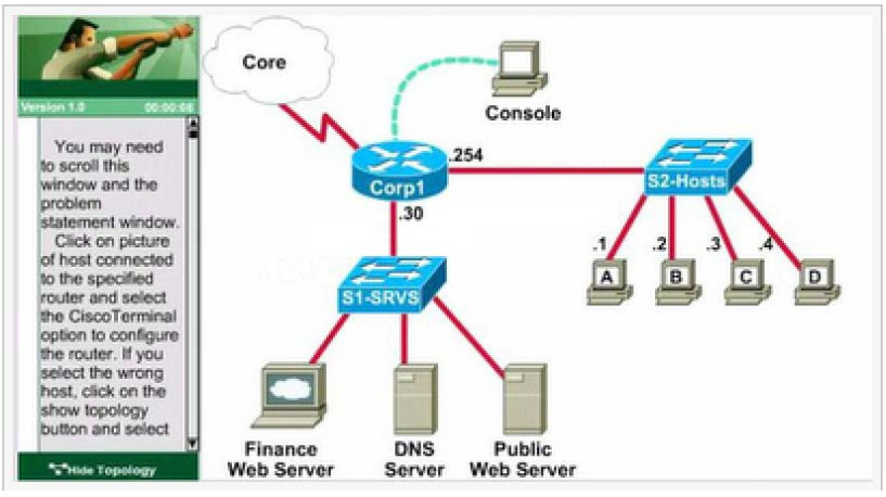 CCNA Certification - Access List Control (ACL-2) Lab Simulation 28
