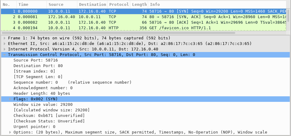 9.2.6 Lab - Using Wireshark to Observe the TCP 3-Way Handshake (Answers) 8