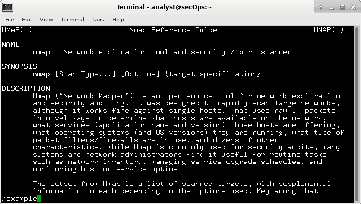 9.3.8 Lab - Exploring Nmap (Answers) 5