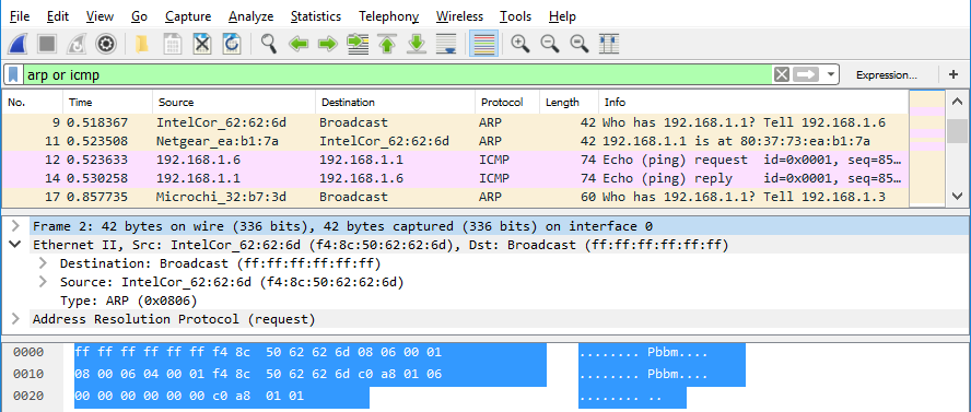 8.2.8 Lab - Using Wireshark to Examine Ethernet Frames (Answers) 6