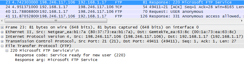10.4.3 Lab - Using Wireshark to Examine TCP and UDP Captures (Answers) 25