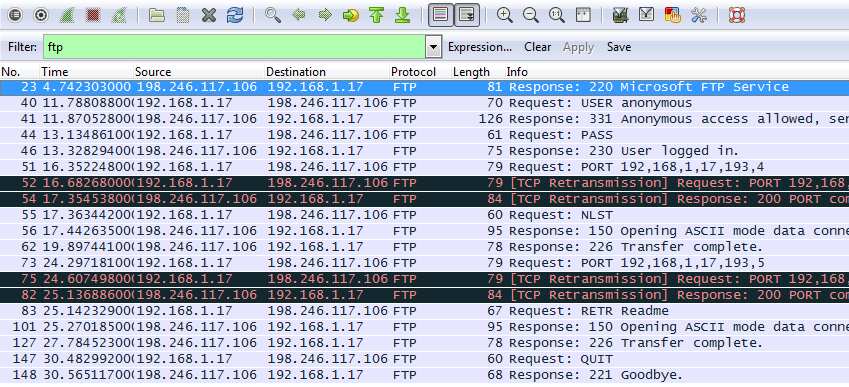 10.4.3 Lab - Using Wireshark to Examine TCP and UDP Captures (Answers) 27