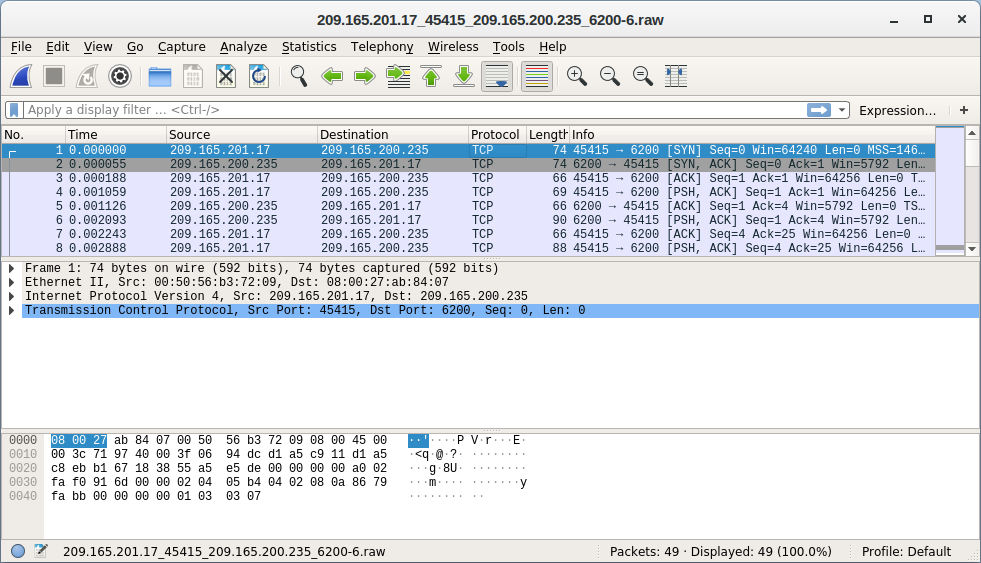 27.2.14 Lab - Isolate Compromised Host Using 5-Tuple (Answers) 19