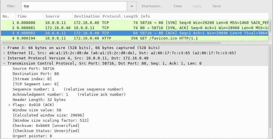 9.2.6 Lab - Using Wireshark to Observe the TCP 3-Way Handshake (Answers) 10
