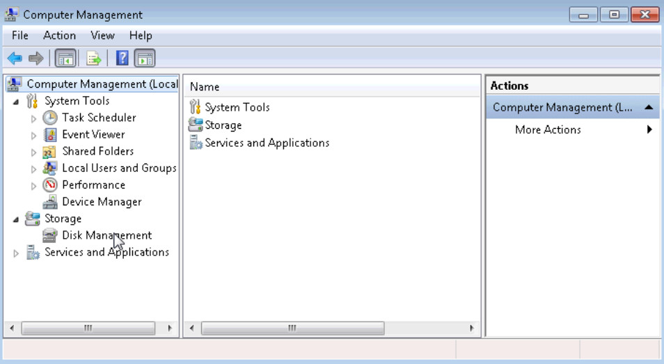 5.2.4.7 Lab - Create a Partition in Windows 7 and Vista (Answers) 21