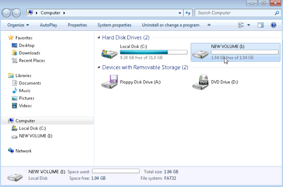 5.2.4.7 Lab - Create a Partition in Windows 7 and Vista (Answers) 29