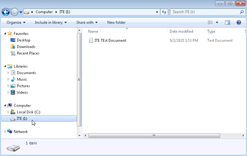 5.2.4.7 Lab - Create a Partition in Windows 7 and Vista (Answers) 39