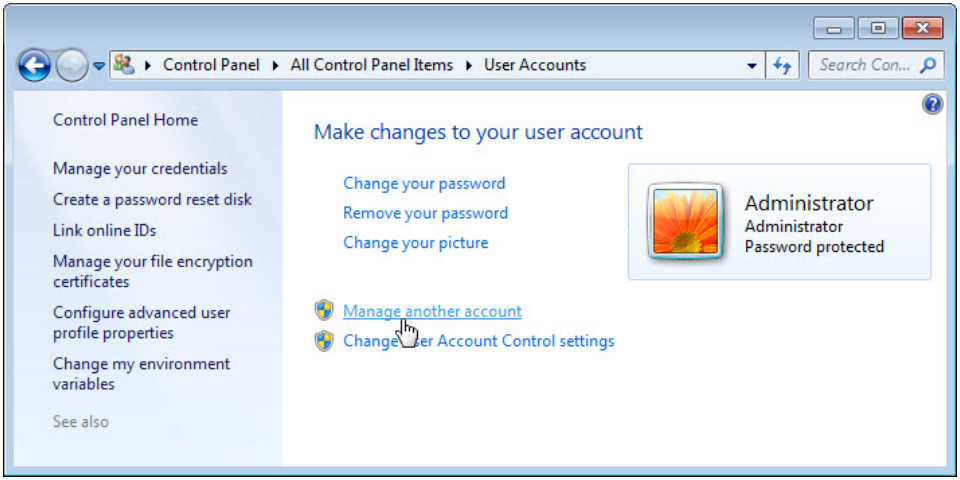 6.1.2.3 Lab - Create User Accounts in Windows 7 and Vista (Answers) 15