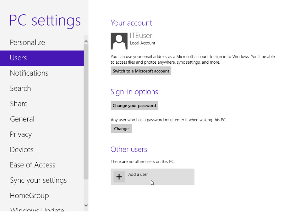 6.1.2.3 Lab - Create User Accounts in Windows 8 (Answers) 45