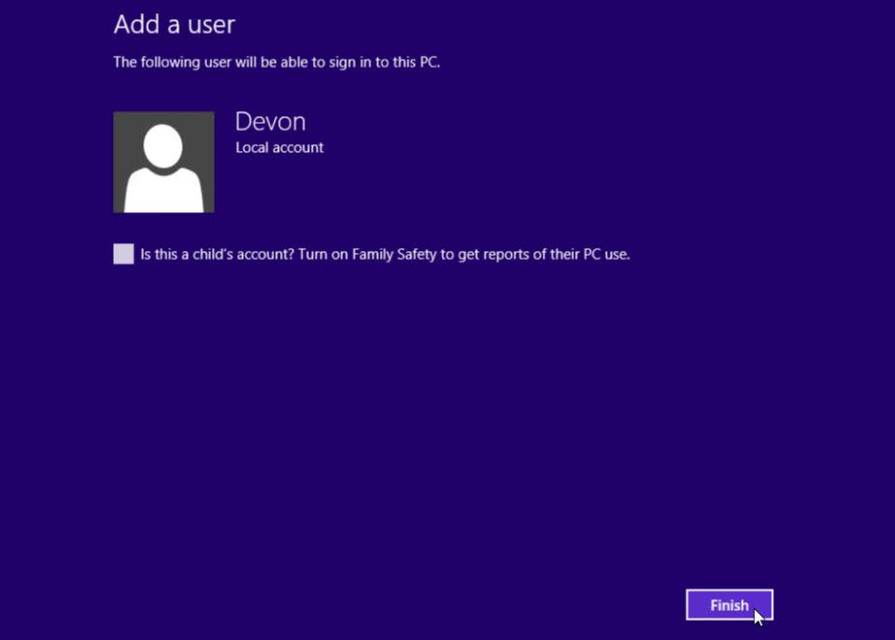 6.1.2.3 Lab - Create User Accounts in Windows 8 (Answers) 49