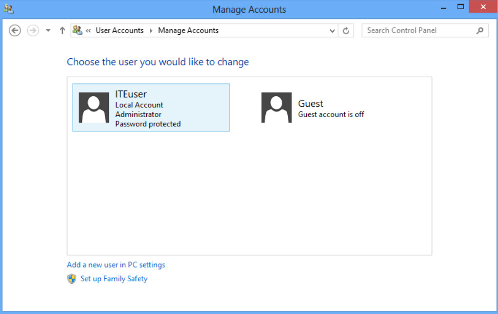 6.1.2.3 Lab - Create User Accounts in Windows 8 (Answers) 56