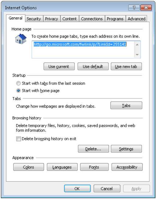 6.1.2.5 Lab - Configure Browser Settings in Windows 7 and Vista (Answers) 20