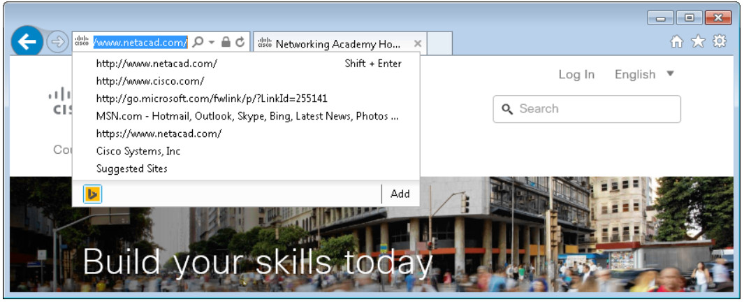 6.1.2.5 Lab - Configure Browser Settings in Windows 7 and Vista (Answers) 24