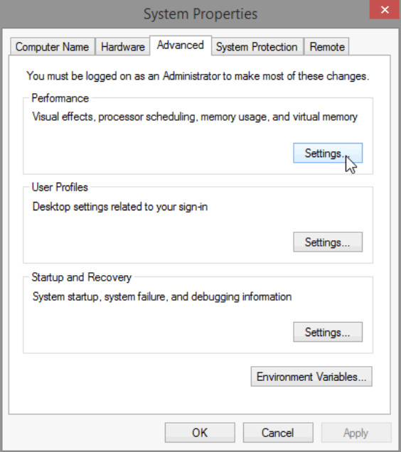 6.1.2.12 Lab - Manage Virtual Memory in Windows 8 (Answers) 19