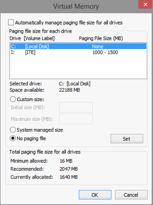 6.1.2.12 Lab - Manage Virtual Memory in Windows 8 (Answers) 27