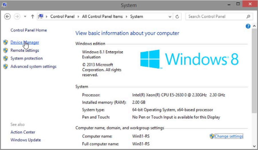 6.1.2.14 Lab - Device Manager in Windows 8 (Answers) 9