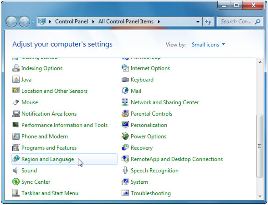 6.1.2.16 Lab - Region and Language Options in Windows 7 and Vista (Answers) 12