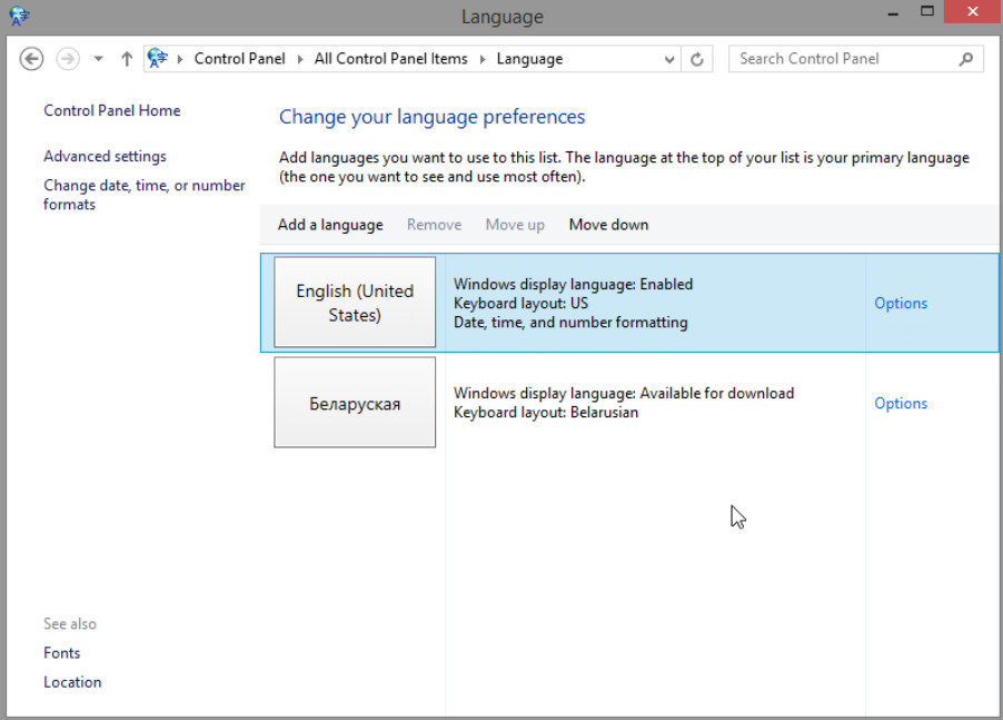 6.1.2.16 Lab - Region and Language Options in Windows 8 (Answers) 14