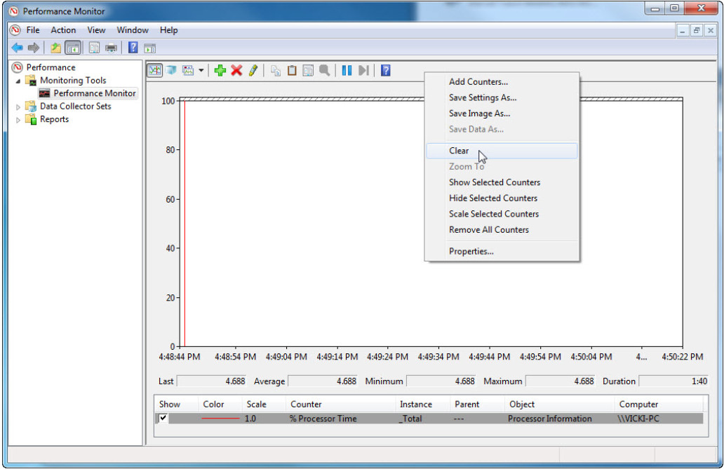 6.1.3.7 Lab - Monitor and Manage System Resources in Windows 7 and Vista (Answers) 70