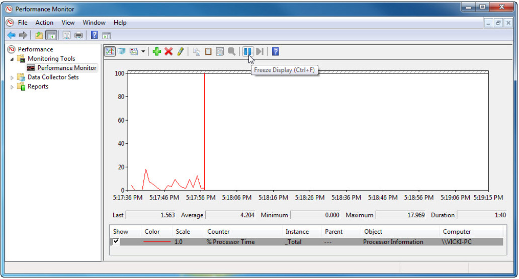 6.1.3.7 Lab - Monitor and Manage System Resources in Windows 7 and Vista (Answers) 82
