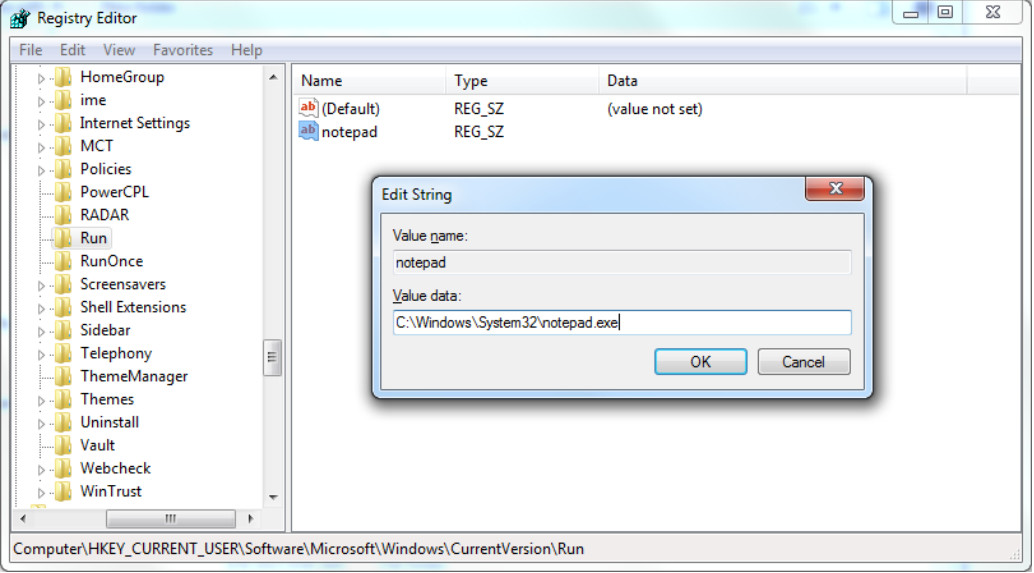 6.3.1.2 Lab - Managing the Startup Folder in Windows 7 and Vista (Answers) 14