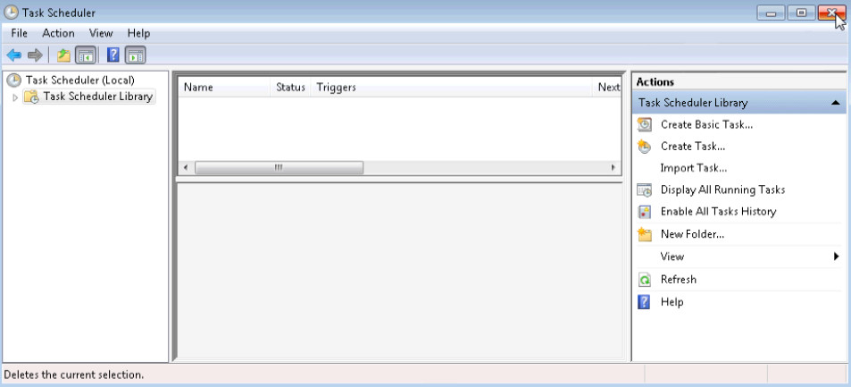 6.3.1.5 Lab - Task Scheduler in Windows 7 and Vista (Answers) 48