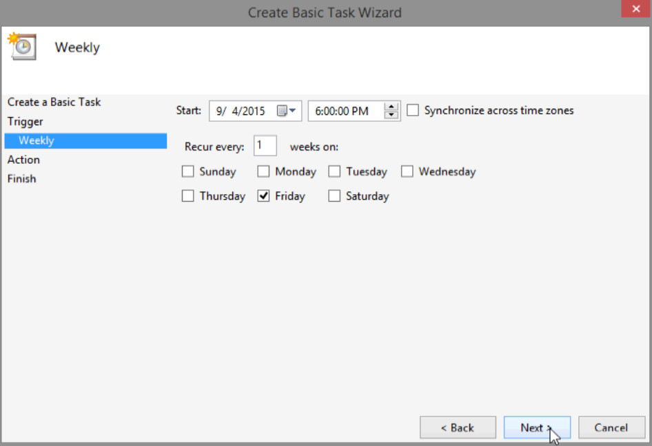 6.3.1.5 Lab - Task Scheduler in Windows 8 (Answers) 28