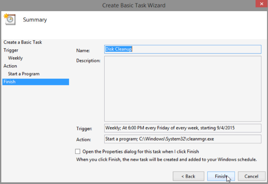 6.3.1.5 Lab - Task Scheduler in Windows 8 (Answers) 33