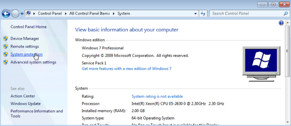 6.3.1.7 Lab - System Restore in Windows 7 and Vista (Answers) 17